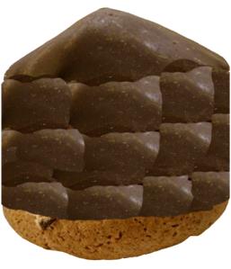 en lång biskvi