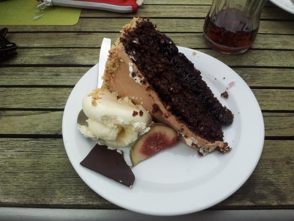 glutenfri nougattårta