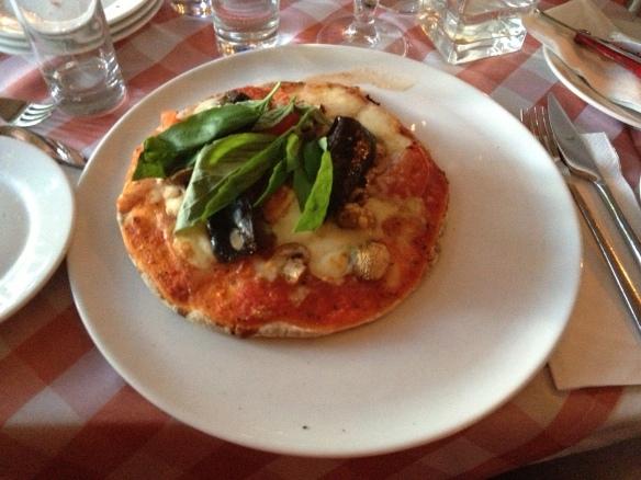 världens minsta glutenfria pizza på ciao ciao